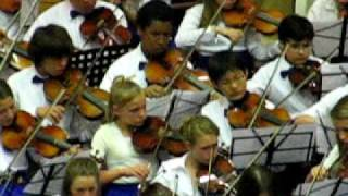 Evening with Strings, Garner Middle School Orchestra, The King and I, 2009