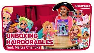 [GIVEAWAY] Berburu dan Unboxing Boneka Hairdorable feat. Maitsa Chantika | BukaPaket for Kids