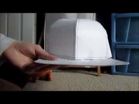 3d Paper Crafts Card Crafts Diy Paper Hat Template Baseball Crafts Baseball Cap Baseball Party Softball Craft Patterns Forward Tutorials: Paper Baseball Caps So this is the template ready for you to use, with either 8 panels or 6 panels, and a cap brim that will work for either one.