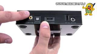 Sidex.ru: Видеообзор медиаплеера HD Media Player Transcend DMP10 (rus)
