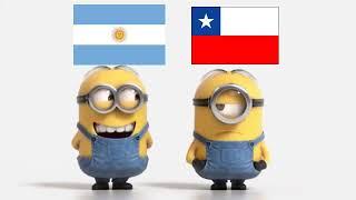 Argentina vs Chile Minions