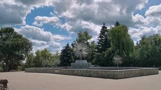 Верхний парк, Липецк. Обзор парка г. ЛИПЕЦК.