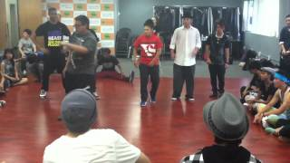 Funkysoul Jr. Battle 2012 Prelims: Precise, Smurf, and Lily-Breeze