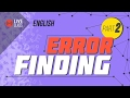 English - Error Finding Part 2 [SSC | HSC | Admission]