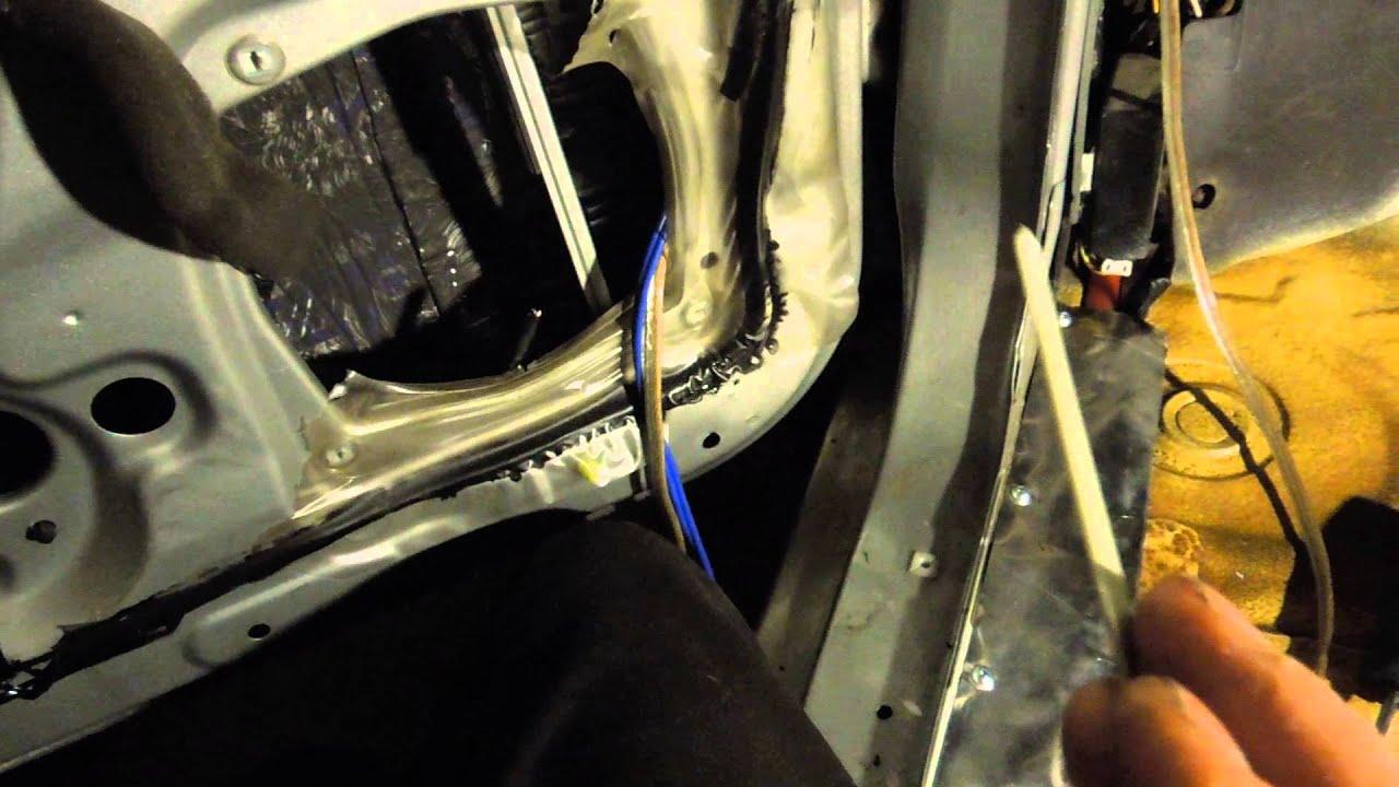 how to get wire s through grommets and door boots [ 1280 x 720 Pixel ]