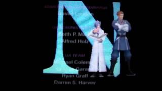 Kingdom Hearts 3D: Dream Drop Distance - Ending Credits (Secret Message Revealed)