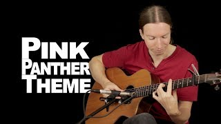 Pink Panther Theme by Henri Mancini | Acoustic Fingerstyle Guitar | Martin Rauhofer