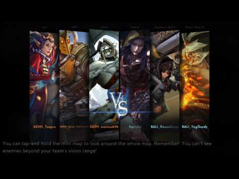 Funny battle royal with BALI YogieSoedy *youtubers and ReconCorps - Vainglory Indonesia