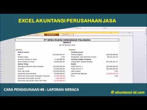 Belajar Menyusun Laporan Keuangan Perusahaan Jasa - Laporan Laba-Rugi (bagian - 1)