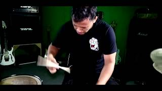 stand here alone hilang harapan drum cover by fany dupex