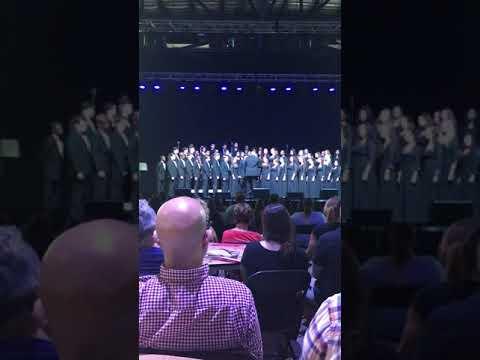 "Herron high school advanced choir ""Hine Ma Tov"""