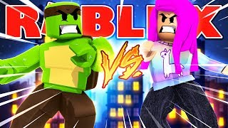 Roblox - BOYFRIEND VS GIRLFRIEND! (TinyTurtle Vs YoImJo)
