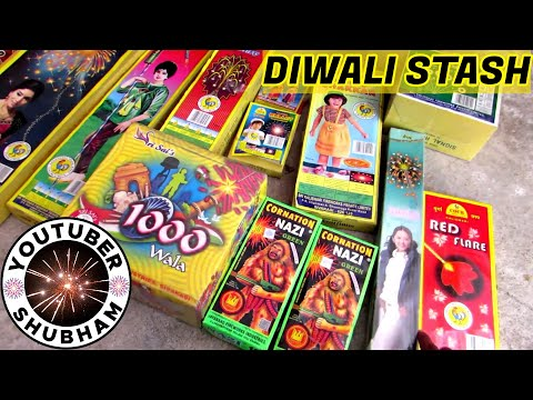 Diwali Crackers Fireworks Stash 2016 Bombs with Price - Cock Brand and others