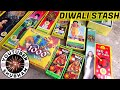 Diwali Crackers Fireworks Stash 2016 Bombs With Price - Cock Brand And Others video