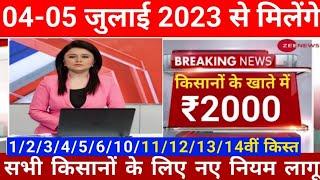 pm Kisan samman nahi yojna 10th kist installment 4000 पीएम किसान सम्मान निधि योजना की दसवीं किस्त screenshot 3