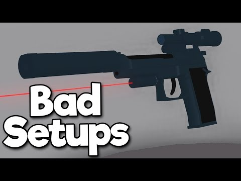 Finding The Worst Gun in Phantom Forces (Roblox)