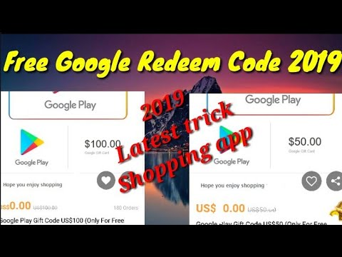 100% Free google play store redeem code, 2019 Latest ...