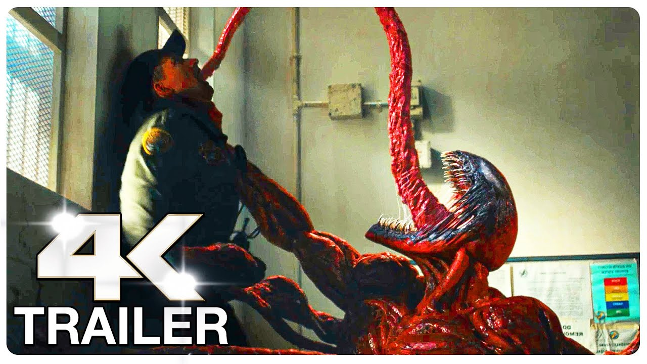 """VENOM 2 LET THERE BE CARNAGE """"Carnage Eats People"""" : 5 Minute Trailers (4K ULTRA HD) NEW 2021"""