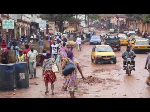 Cameroun Yaoundé Centre ville / Cameroon Yaounde City center