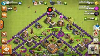 999 TROOPS MASS ATTACK ! Clash of clans