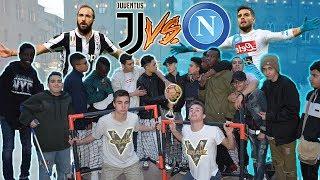 Juventus VS Napoli - BOTTA E RISPOSTA Tra Tifosi ● JUVENTINO vs NAPOLETANO, INTERISTA e MILANISTA