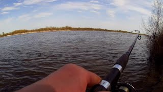 Рыбалка в МАЕ Ока донки природа рыба ЛЕЩ ОКУНЬ