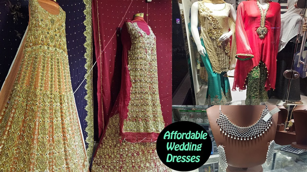 ab2374aada Affordable Pakistani Wedding Dresses From Rang Mahal Bazaar Lahore ...