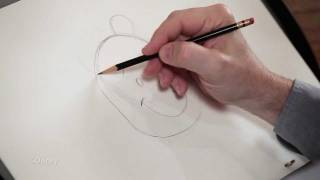 Winnie the Pooh - How to Draw Pooh with Mark Henn
