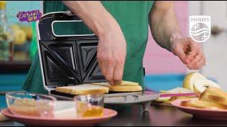 Бутербродница Philips HD2392: рецепт бутербродов с грушей
