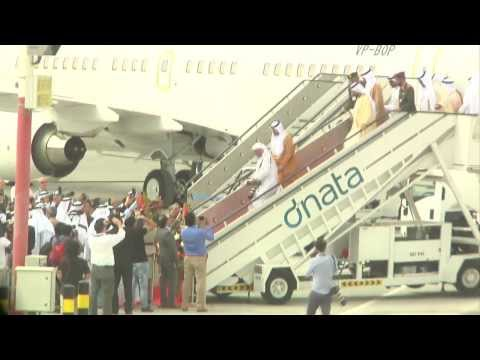 Qatar Airways - Highlights of Dubai Airshow 2013