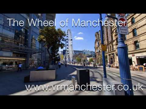 The Wheel Of Manchester. World Tourist Attractions Exchange Square Manchester M3 1BD