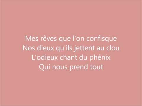 1789 - Le cri de ma naissance PAROLES