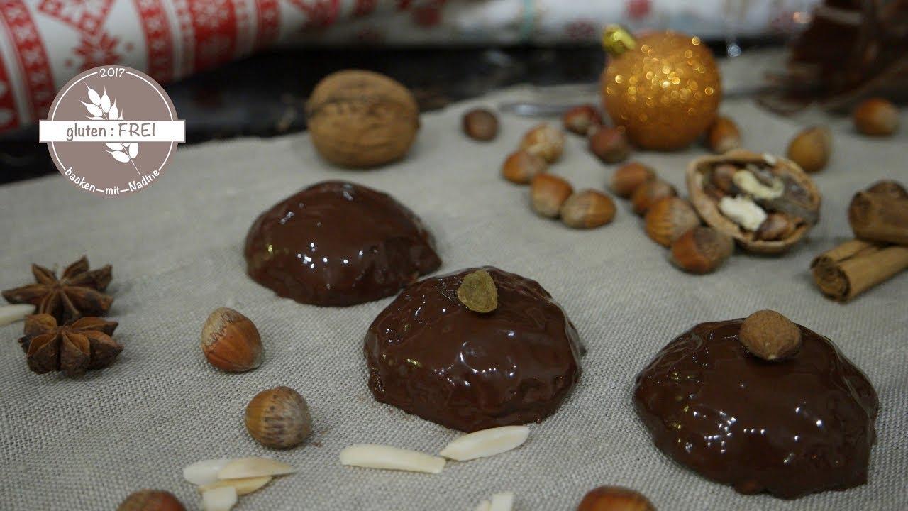 Glutenfreies Weihnachtsgebäck.Glutenfrei Backen Mit Nadine Elisen Lebkuchen Vegan Weihnachtsgebäck
