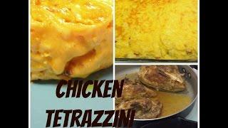 My Chicken Tetrazzini Recipe