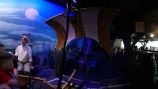 Disneyland 360 4K:  Flight of Peter Pan Full Ride