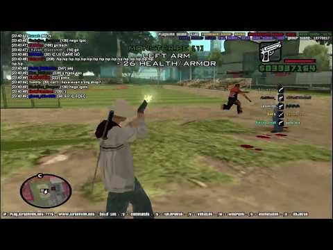 GTA San Andreas MP : UIF Server - Zone War
