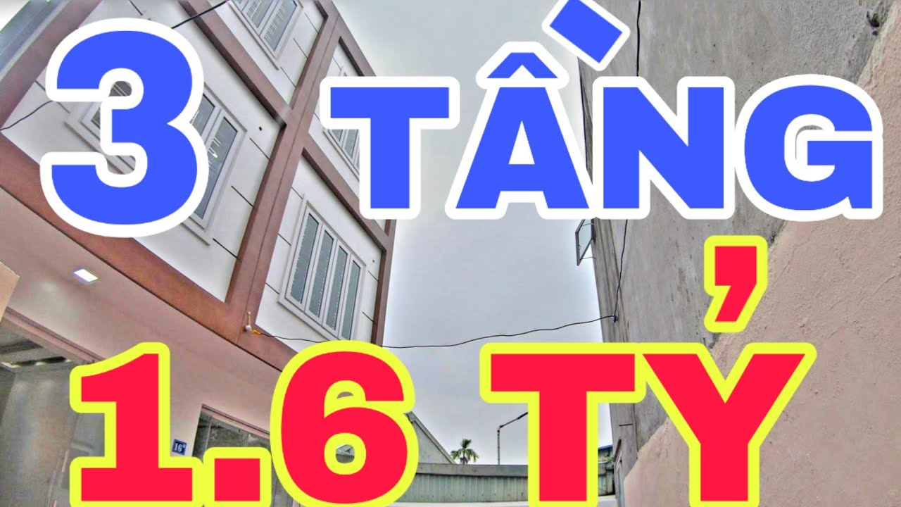 Bán Nhà Đẹp 3 Tầng Số 105 Trung Hành, Hải An, Hải Phòng Giá 1,6 Tỷ