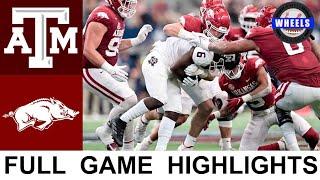 #16 Arkansas vs #7 Texas A\u0026M Highlights | College Football Week 4 | 2021 College Football Highlights