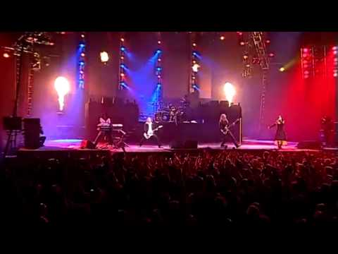 Tarja Turunen's Vocal Range Live: End Of An Era (F3-Eb6)
