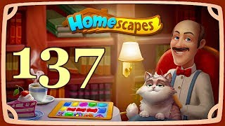HomeScapes level 137