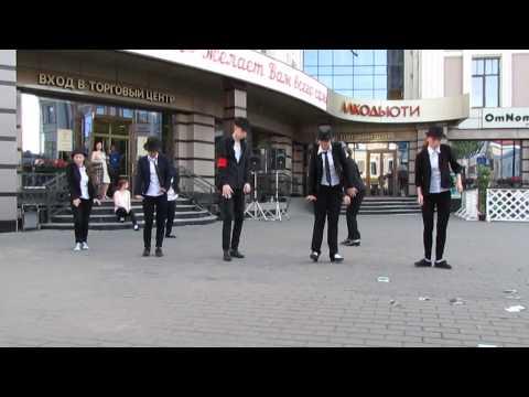 Видео: Флешмоб в честь Дня памяти Майкла Джексона в Казани