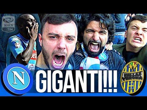 NAPOLI 2-0 VERONA | GIGANTI!!! LIVE REACTION CURVA B HD