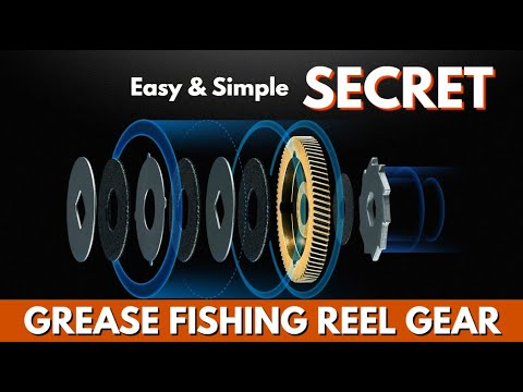 Fishing Reel Maintenance SECRET - How To Properly Grease Fishing Reel Gears