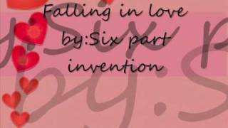 Gambar cover Falling In love-Six part invention (lyrics)