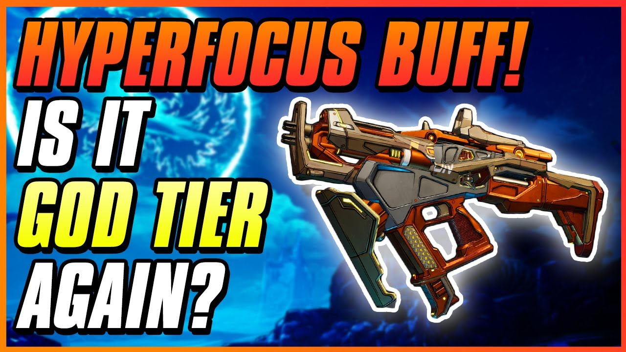 NEWLY BUFFED HYPERFOCUS XZ41 WORTH IT? | Borderlands 3 Hotfix | Weapon Buff | Weapon Guide thumbnail