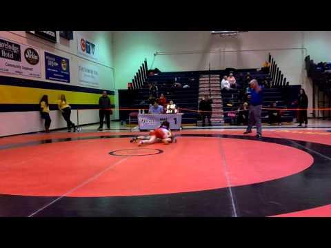 2014 Ontario Juvenile Championships: 52 kg Emily Schaefer vs. Iva Mema
