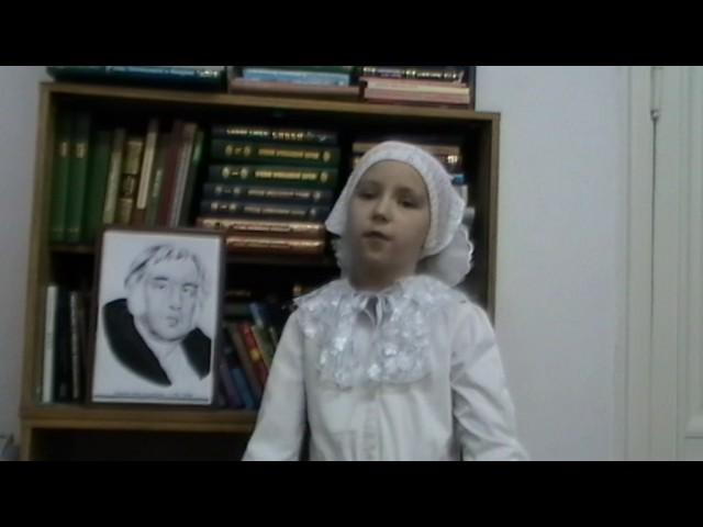 Изображение предпросмотра прочтения – МарияЧубенко читает произведение «Чиж и Голубь» И.А.Крылова