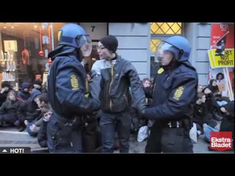 Danish Police Engage in Preemptive Mass Arrests at Climate Change Conference