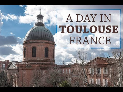 A Day in Toulouse, France