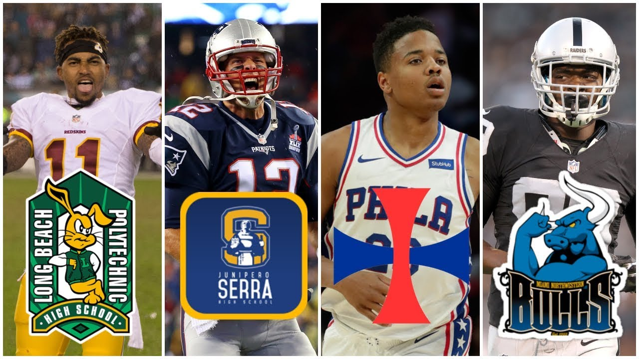 10 High Schools That Produce The MOST Professional Athletes (AMAZING)